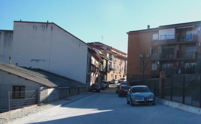 Pavimentado el tramo en tierra de la calle Francisco de Goya de Jaraíz de la Vera