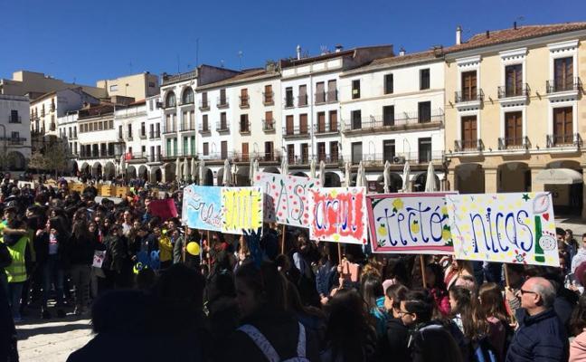 Los estudiantes de Cáceres piden una mejor accesibilidad