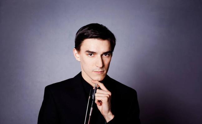 Concierto de la OEx en Cáceres con el músico ruso Sergey Malov