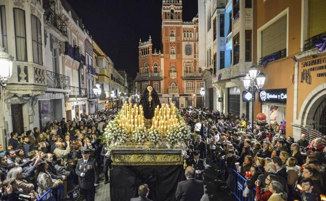 La Soledad invertirá su recorrido el Viernes Santo sin pasar por la plaza Alta de Badajoz