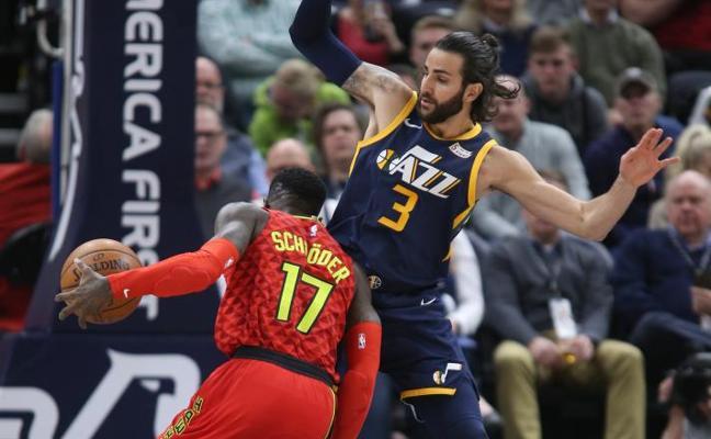 Rubio lleva a los Jazz de Utah a la victoria y Willy debuta de titular con los Hornets