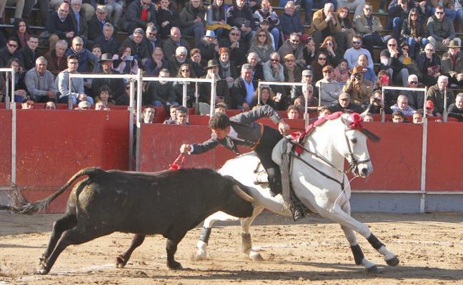 Ocho orejas en un entretenido festival taurino en Coria