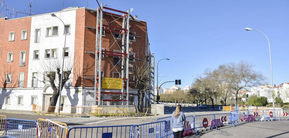 La avenida de Pardaleras y la calle Moreno Zancudo de Badajoz reabrirán mañana