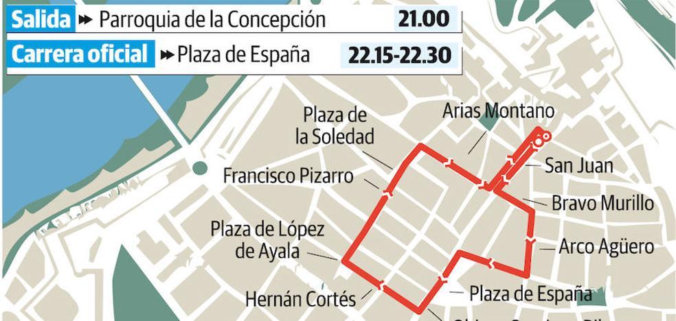 María Santísima de los Dolores y la Oración en el Huerto saldrán en Badajoz