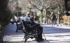 La pensión media en Extremadura crece un 1,6% y se sitúa en 775 euros
