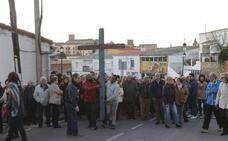 La cruz de Lampedusa, bendecida por el papa Francisco, llega a la Diócesis de Coria-Cáceres