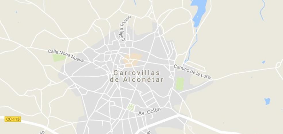 Herido con policontusiones tras caer de un andamio en Garrovillas de Alconétar
