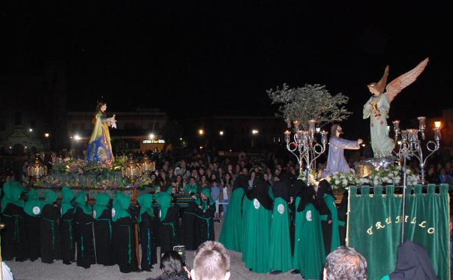 La Oración en Huerto y María Magdalena realizan su particular encuentro con un nuevo recorrido en Trujillo