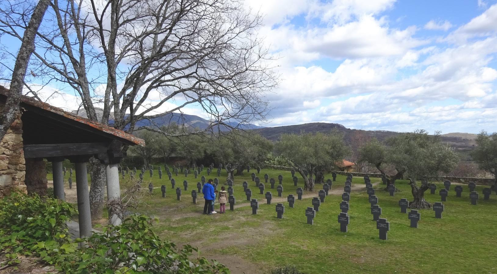 El misterioso cementerio alemán cacereño