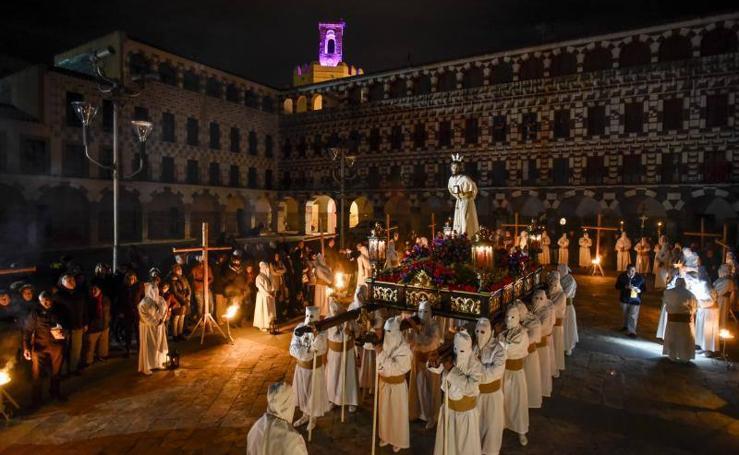 Procesiones del Miércoles Santo en Badajoz