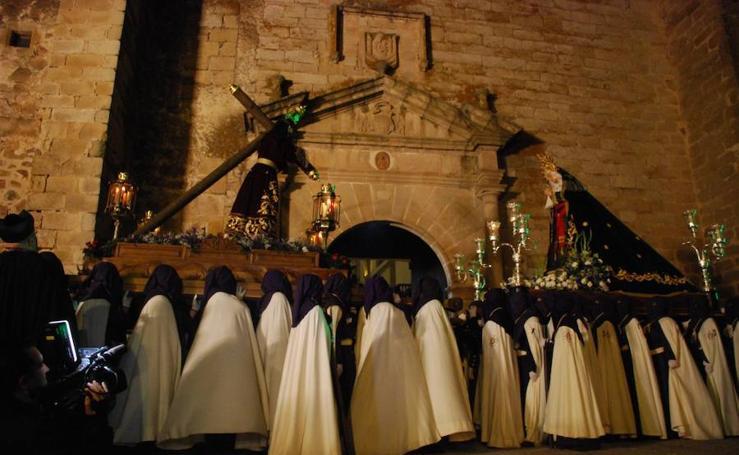 Procesiones del Miércoles Santo en Trujillo