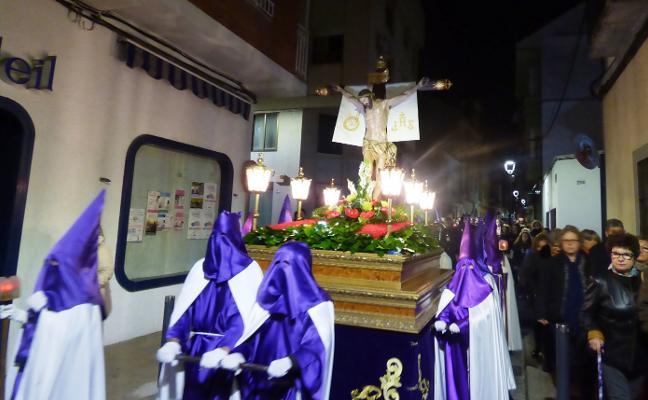 Vía Crucis y el Santo Entierro, protagonistas hoy en Navalmoral