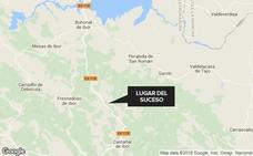 Herida grave una joven de 22 años tras volcar con su turismo cerca de Castañar de Ibor