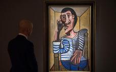 Un raro autorretrato de Picasso a subasta en Nueva York