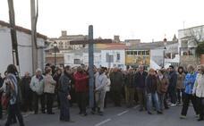 La Cruz de Lampedusa seguirá recorriendo la provincia de Cáceres hasta el 22 de abril