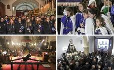 Viernes de lluvia, madrugada con vía crucis y protagonistas para el sábado santo
