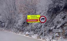 Abre al tráfico el Puerto de Honduras, cerrado por nieve desde la pasada noche
