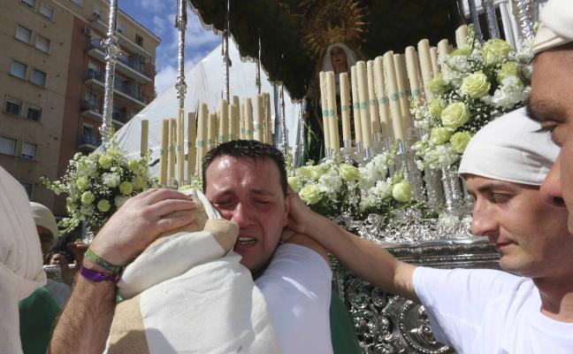 Viernes Santo en Mérida: Las lágrimas se mezclaron con la lluvia