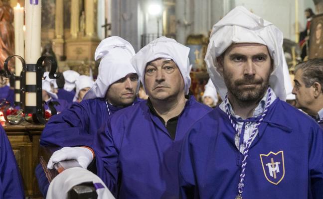 Viernes Santo en Plasencia: El Descendimiento se quedó en Santo Domingo
