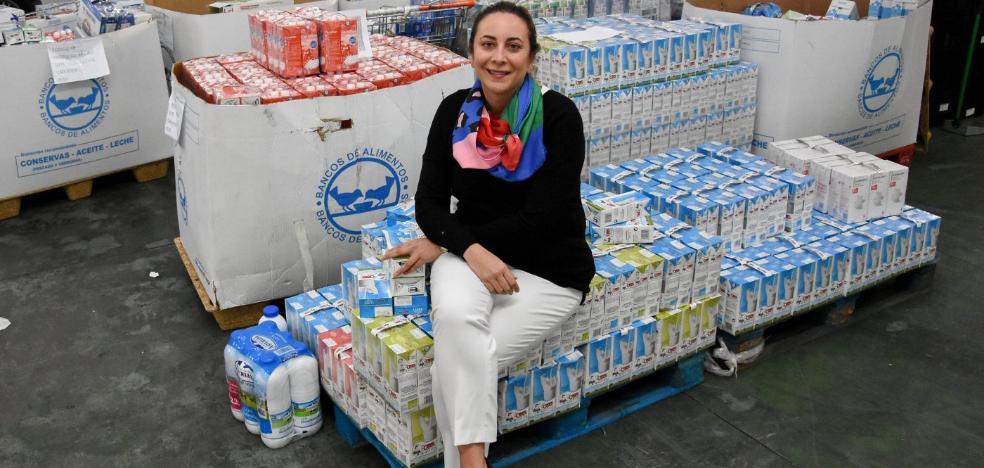 22.000 litros de leche en siete días