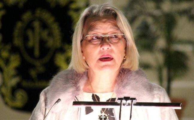 Un pregón emotivo para María de los Ángeles Sánchez en Miajadas