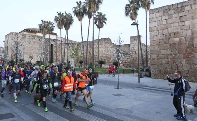 Unos 1.000 participantes recorrerán las Millas Romanas de Mérida