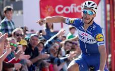 Primer triunfo y liderato en la Vuelta a País Vasco para Alaphilippe