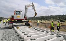Las obras del AVE elevan un 27% la inversión del Gobierno en la región