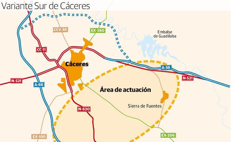 Variante Sur de Cáceres