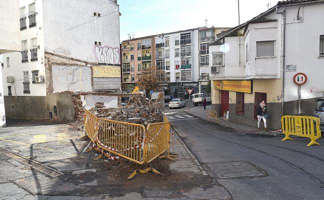 Corte de tráfico de dos meses en Luis de Zúñiga en Plasencia
