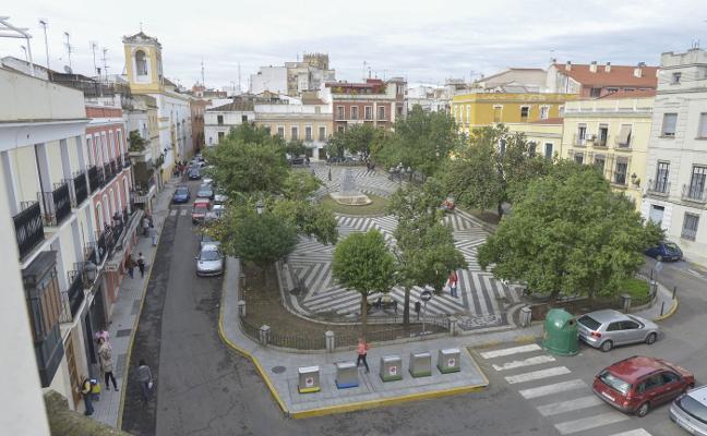 La extensión de la plataforma única en el Casco Antiguo de Badajoz costará 1,5 millones