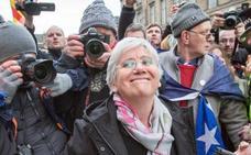 La campaña de donaciones para Ponsatí recauda ya 230.000 libras