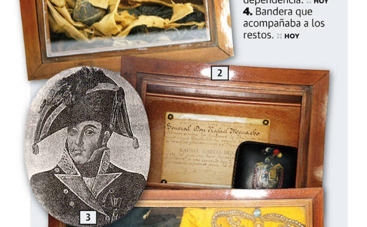 Algunas reliquias del general Menacho