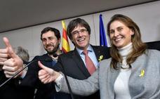 Los exconsejeros Comín, Serret y Puig, en libertad sin fianza mientras se resuelve la euroorden