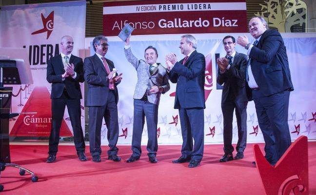 La Cámara de Comercio premia a Alfonso Gallardo