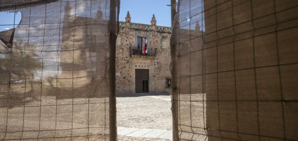 La reforma del Museo Provincial de Cáceres se retrasa otros cuatro meses más