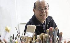 Helga Alvear inaugura exposición de Mitsuo Miura