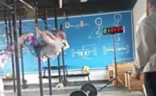 Cuando te fallan las fuerzas haciendo CrossFit