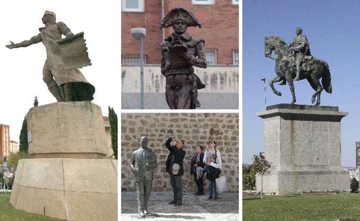 ¿En honor a quién son estas estatuas?