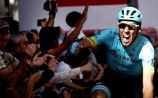 Omar Fraile gana en Eibar y Roglic fortalece aún más su liderato