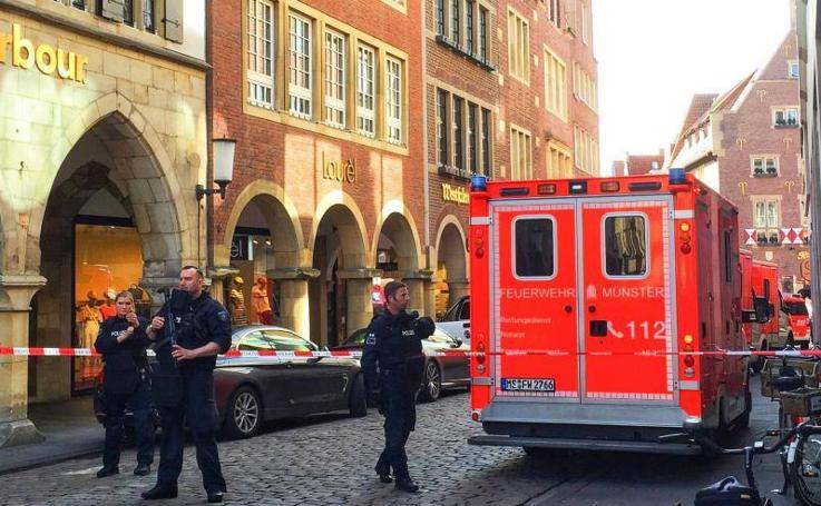 Atropello masivo en la ciudad alemana de Münster