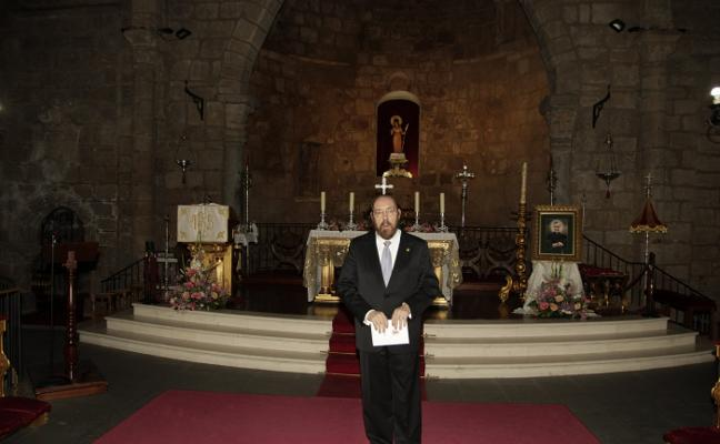 Miguel del Barco interpreta una Misa polifónica en Mérida en honor a José María Escrivá
