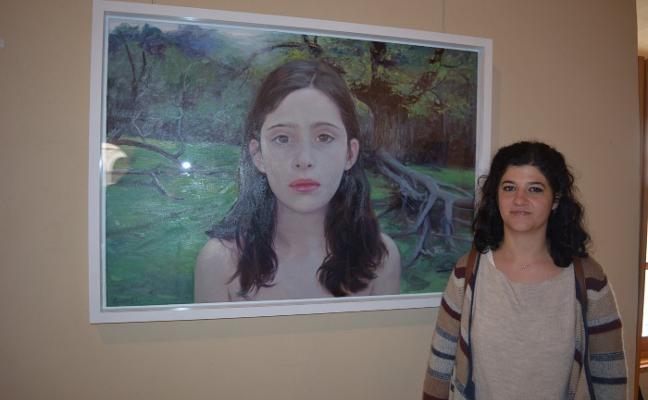 La pintora Leonor Solans gana el Premio Eugenio Hermoso de Fregenal