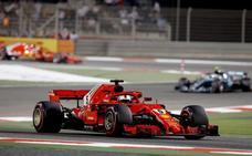 Vettel saca el escudo