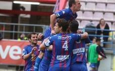 El Extremadura, cerca del playoff gracias a la segunda mitad