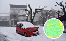Desactivan el aviso por nevadas para este jueves al norte de Extremadura