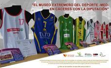 El Museo Extremeño del Deporte llega a Cáceres de la mano de la Diputación y la FJyD
