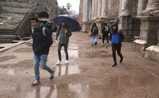 Viernes con lluvias dispersas en Extremadura