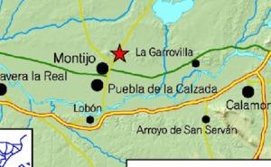 Montijo registra un pequeño temblor