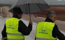 La Junta concluirá en octubre la obra en el tramo de la EX-360 de Villafranca a Fuente del Maestre